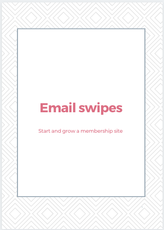 , Start and Grow a Membership Site Downloads